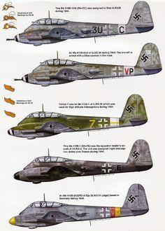 Messerschmitt Me-410.