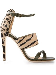 Shop Sergio Rossi leopard print sandals in Russo Capri from the world's best independent boutiques at farfetch.com. Over 1500 brands from 300 boutiques in one website.