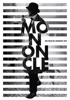 Mon Oncle Movie Identity on Behance poster design Graphisches Design, Buch Design, Print Design, Design Ideas, Stand Design, Interior Design, Pattern Design, Logo Design, Graphic Design Posters