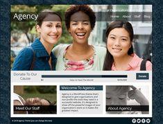 Agency - Nonprofit WordPress Theme by Organized Themes on