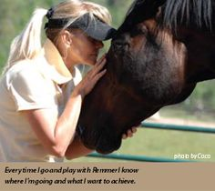 From Linda's Journey -by Linda Parelli This article was originally published in the August 2010 issue of Savvy Times magazine. Recent back-issues of Savvy Times are available for Parelli members in. Natural Horsemanship, Time Magazine, Horse Training, Equestrian, Traveling By Yourself, Goals, Horses, Horse Stuff, Amazing Things
