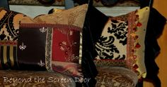 How About Pillows for that Special Someone? | Beyond the Screen Door