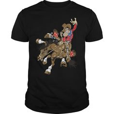 Bronco Buster - Bronc Riders advertise your toughness. (Cowboy, Cowgirls, Horses and Rodeo Tshirts)