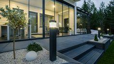 Kallio pollari, Airam Back Gardens, Outdoor Gardens, Outdoor Spaces, Outdoor Living, Modern Architecture House, Terrace Garden, Dream Garden, Backyard Patio, Garden Planning