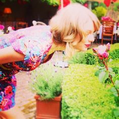 Wake up, and always smell the roses Tay!