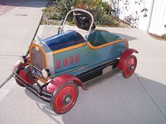 RARE Antique Gendron Pedal Car Circa 1927 Buick Original Attic Find Unrestored | eBay