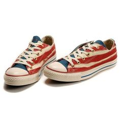 Autumn Sneakers American Flag Print Canvas High Top Shoes Low upper... ❤ liked on Polyvore featuring shoes, sneakers, converse, sapatos, zapatos, high top sneakers, hi tops, hi top canvas shoes, american flag sneakers and canvas sneakers