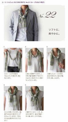 Tie a scarf #22/50