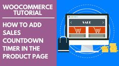 WooCommerce Tutorial: How to Add Sales Countdown Timer in the Product Page Amazon Jobs At Home, Make Money Online, How To Make Money, Ebay Sale, Countdown Timer, Product Page, Selling On Ebay, Audio Books, Ecommerce