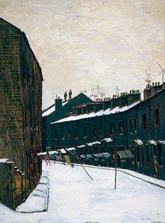 PETER BROOK Bitter Cold, Chapel Street (1959)