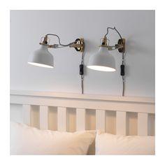 RANARP Nástěnné/bodové osv. se skřipcem  - IKEA