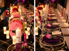 more gorgeous wedding tablescape