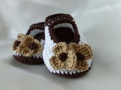 Looking for your next project? You're going to love CAPPUCCINO baby shoes by designer Luba Davies. - via @Craftsy