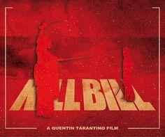 Kill Bill Minimalist Movie Poster Print, Quentin Tarantino, Home Decor, Print Art Poster