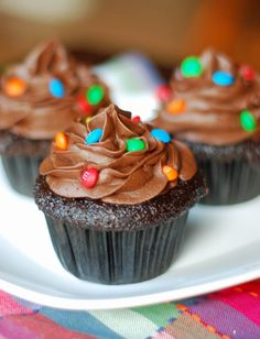 Ingredients    Cake/cupcakes  2 cups sugar  1-3/4 cups all-purpose flour  3/4 cup cocoa  1-1/2 teaspoons baking powder  1-1/2 teaspoons baking soda  1 teaspoon salt  2 eggs  1 cup milk  1/2 cup vegetable oil  2 teaspoons vanilla extract  1 cup boiling water