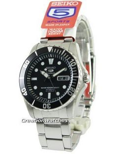 Seiko Automatic Divers 23 Jewels 100m Made in Japan SNZF17J1