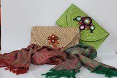 Bolsos de rafia creaciones de Los Complementos de Susanita