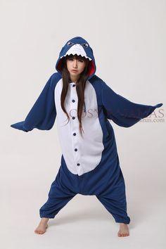 Animal costume Shark Adult Onesie pajamas Adult Onesie Pajamas 75e031c46cb74