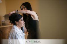 INDIAN WEDDING SOUTH ASIAN BRIDE MAKEUP ARTIST AND HAIR STYLIST >> ANGELA TAM | RUPALI and PARAS | FOUR SEASONS WESTLAKE VILLAGE WEDDING