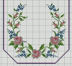 This post was discovered by Hülya Şen Yoğurtcu. Discover (and save!) your own Posts on Unirazi. Cat Cross Stitches, Cross Stitch Borders, Cross Stitch Rose, Cross Stitch Flowers, Cross Stitch Charts, Cross Stitch Designs, Cross Stitching, Cross Stitch Embroidery, Cross Stitch Patterns