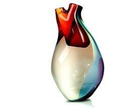 a beautiful glass heart