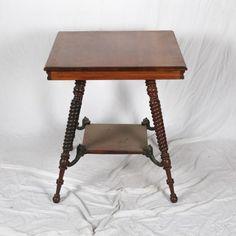Antique Victorian Parlor Table d53504783c02