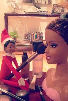 Elf on the shelf ideas-Nina blu 2012