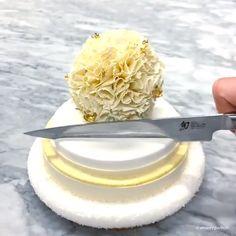 Amaury Guichon's Cut Comp has Arrived - Desserts Fancy Desserts, Delicious Desserts, Dessert Recipes, Yummy Food, Food Crafts, Diy Food, Weird Food, Creative Food, Food Plating