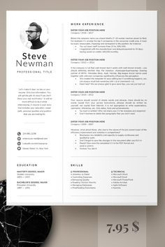Resume template word - Minimalist Resume Template Word Professional Resume Cv Template, Executive Resume with photo, Marketing CV, Software Developer, Engineer – Resume template word Layout Design, Cv Design, Web Developer Resume, Architect Resume, Word Web, Cv Inspiration, Engineering Resume, Resume Design Template, Free Cv Template Word