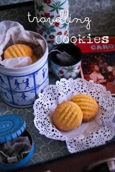 Condensed Milk Travelling Cookies  Soft, buttery, sugar-coated cookies  http://www.notquitenigella.com/2013/05/16/the-travelling-cookies/