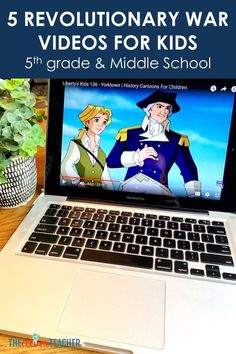 Bring Revolutionary War history to life for kids with these fun and engaging videos! These videos make a fun addition to any revolutionary war lessons activities or projects! Teaching Us History, History For Kids, History Education, Teaching Tools, 7th Grade Social Studies, Teaching Social Studies, History Cartoon, Liberty Kids, History Classroom