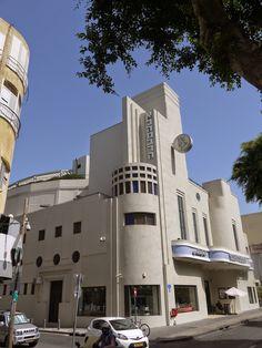 Alhambra Cinema, Jaffa (Tel-Aviv), Israel.