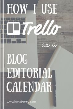 Trello is a great project organizing app all on it's own, but did you know that you can use Trello as a blog editorial calendar too? Find out how I did it! Plus, get a free template to set yours up too!