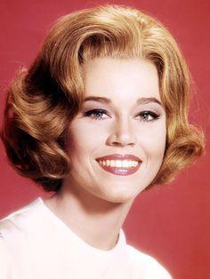 Jane Fonda..iconic eye makeup looks