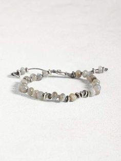Black Labradorite Sterling Silver Overlay 10 Grams Bangle//Bracelet Free Size Fantasy