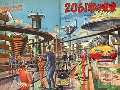 'The Tokyo of 2061' by Tenan Ito, 'Tanoshii Yonensei' (Happy 4th Year Student)…
