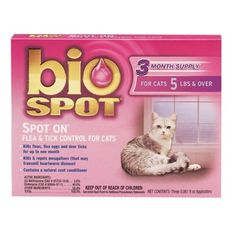 $11.68-$24.99 Bio Spot Spot On for Cats over 5 lbs. 6-month