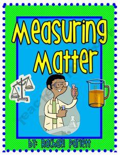 Matter Unit (Lesson Plans, Assessments, Bulletin Board, Review Game)