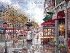 PAR0021 - Oil Painting of Paris