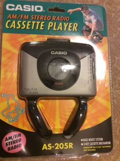 Casio Cassette Player Vintage AM/FM Radio #casio