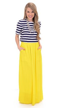 ShopBlueDoor.com: This maxi skirt truly is divine! $42
