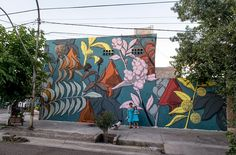 Our friend Francisco Diaz aka Pastel spent a few days in Mendoza, Argentina where he was invited to paint a new mural for the street art Festival Muropolis, 2014