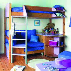 Bunk Beds With Desk And Sofa Bed Design Room Decors and Design
