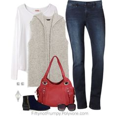 """Casual Class"" by fiftynotfrumpy on Polyvore"