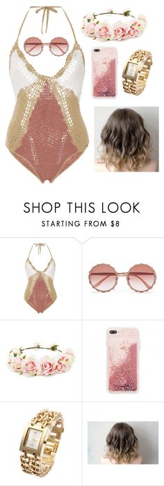 """""""glam pool party"""" by gracegrimm on Polyvore featuring All That Remains, Dolce&Gabbana and Forever 21"""