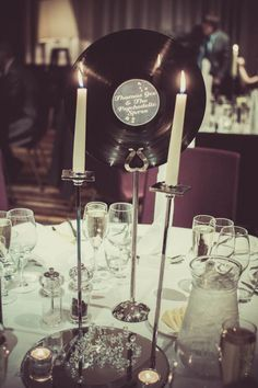 """Give the guest their """"love song"""" place marker for their table at the reception"""