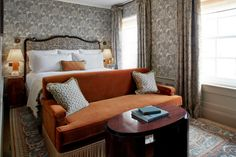 Grey Furniture, Furniture Design, Boutique Hotels London, Soho House, House 2, Hotel Interiors, Small Rooms, Townhouse, New Homes