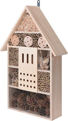Insectenhotel XL - Kwekersvergelijk Bees And Wasps, Birds And The Bees, Sheep Pen, Carpenter Bee Trap, Bee Traps, My Moon And Stars, Bug Hotel, Butterfly House, Mini Farm