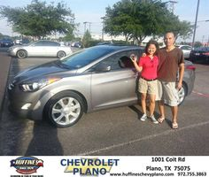#HappyAnniversary to Melchor Leonito Catarroja on your 2011 #Hyundai #Elantra from Eric Stovall at Huffines Chevrolet Plano!