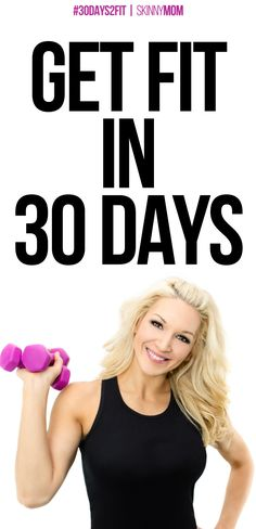 Ready to get fit in a month? Start today!!